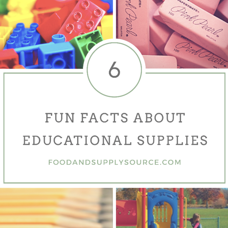 6 Fun Facts About Educational Supplies