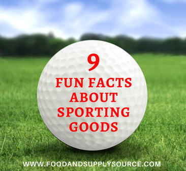 9 Fun Facts About Sporting Equipment