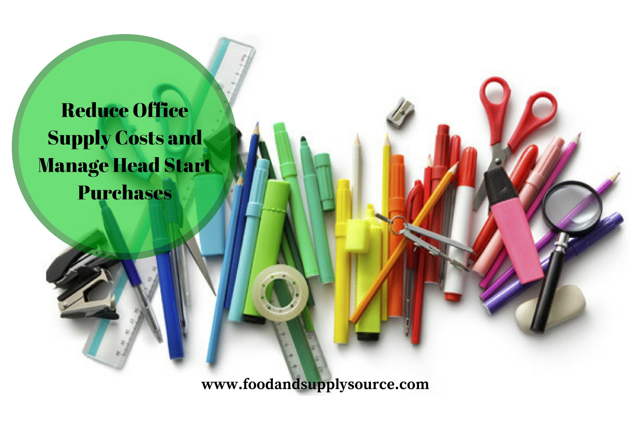 Reduce Office Supply Costanage Head Start Purchases